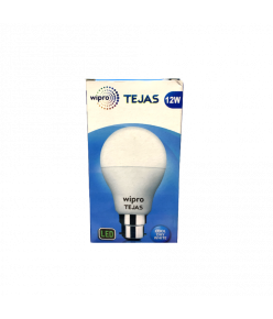 WIPRO TEJAS 12W LED BULB 6500K B22 (Cool Day White)