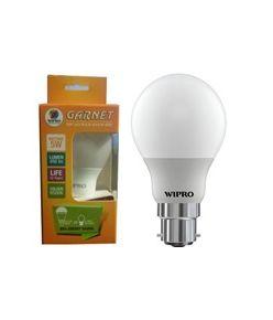 Wipro 5W Garnet LED Bulb B22/E27